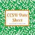 CCSU Date Sheet 2019 Download CCS University Exam Scheme PDF