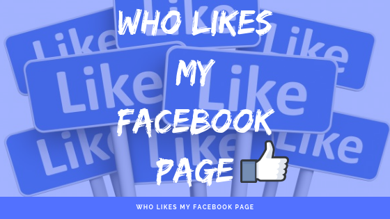 Who Likes My Facebook Page