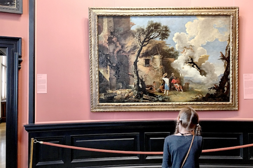 Kinder im Kunsthistorischen Museum