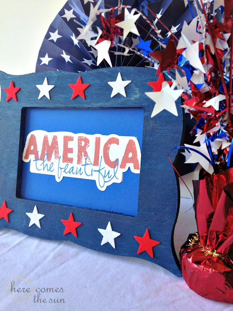 Here Comes the Sun: DIY Patriotic Art