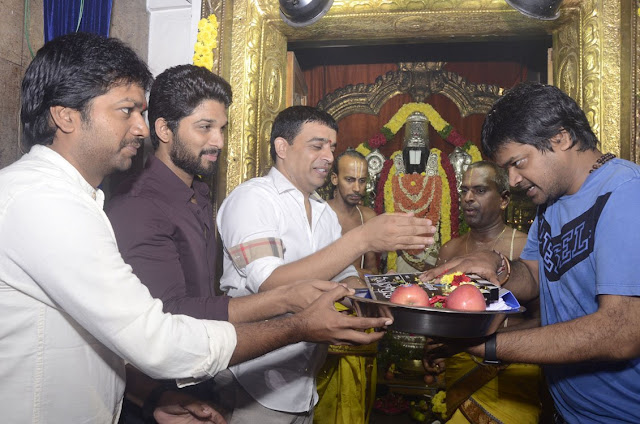 Allu Arjun's 'DJ' movie Launch Stills