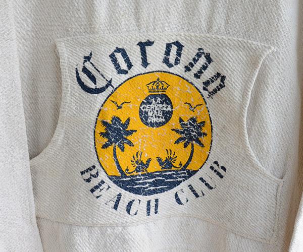 ヴィンテージコロナビールBeer Corona Beach Clubメキシカンパーカ