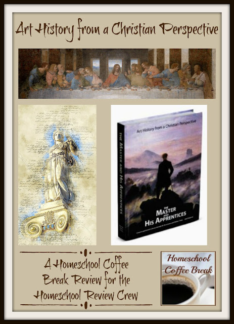Art History from a Christian Perspective - A Homeschool Coffee Break Review for the Homeschool Review Crew - on Homeschool Coffee Break @ kympossibleblog.blogspot.com