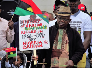 Biafra officially the Republic of Biafra was a sanctuary secessionist state in West Africa that existed from May 30, 1967 to January 1970