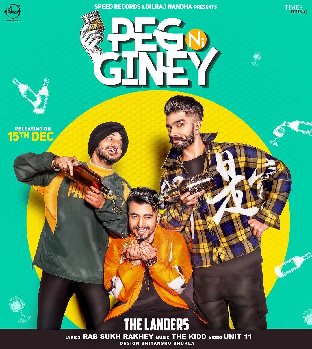Peg Giney  The Landers  new song