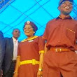 Very Funny: Osun State's governor Aregbesola and Deputy Governor rock new elementary school uniform (PHOTO)