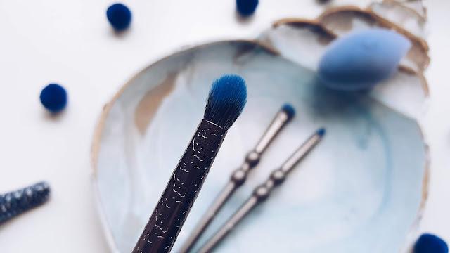 Nascita Ocean Serisi | Kadife Makyaj Süngeri Ve Makyaj Fırçaları