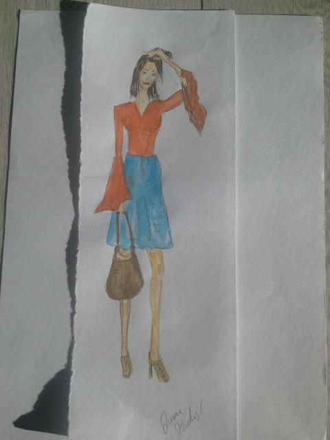 #modnailustracija #fashionillustration