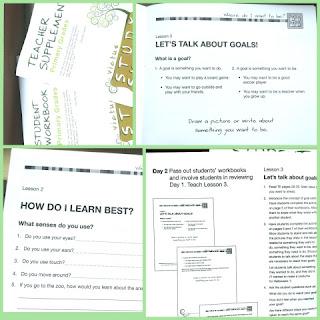 Victus Study Skills System primary level collage