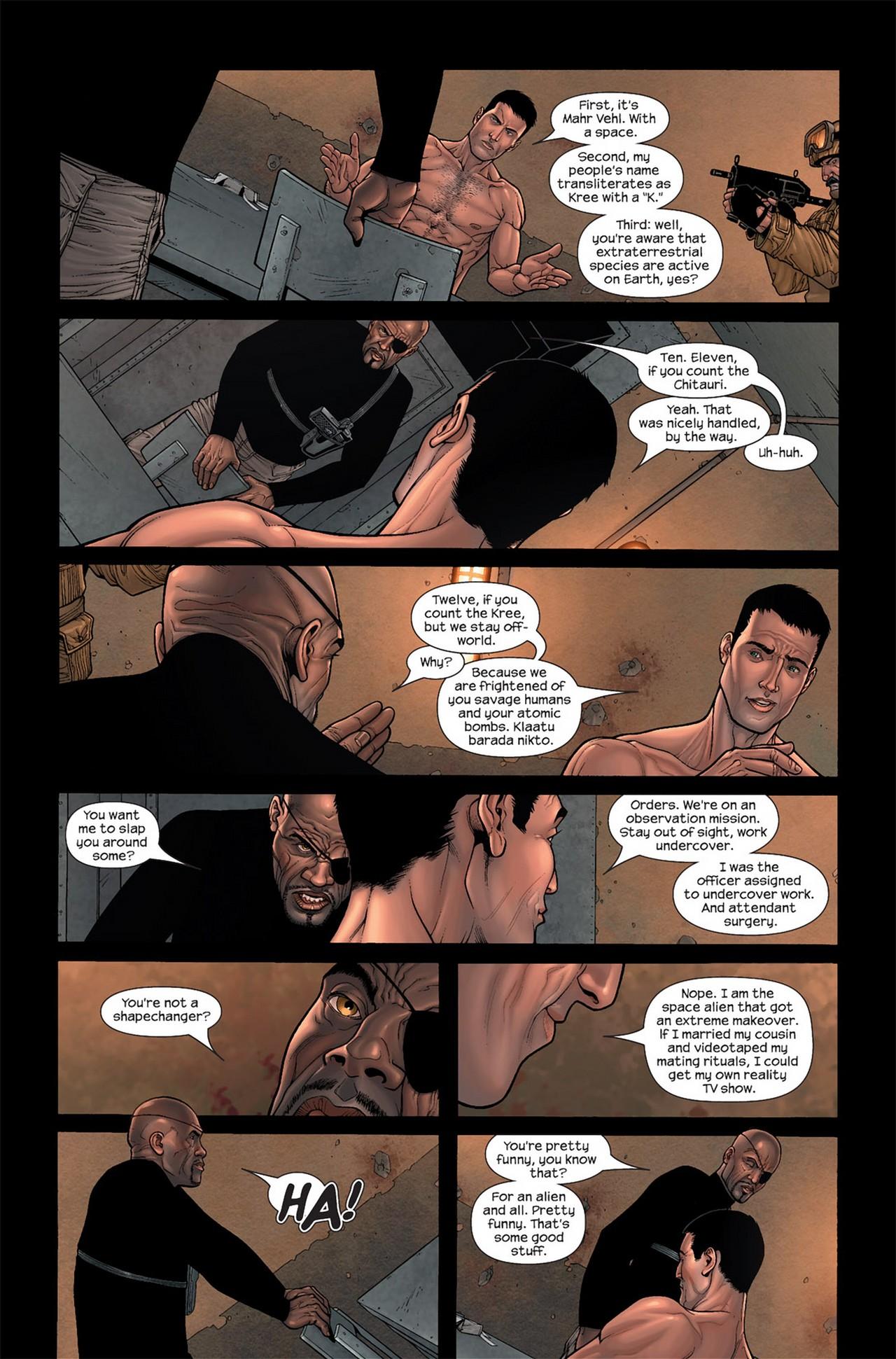 Read online Ultimate Secret comic -  Issue #2 - 12