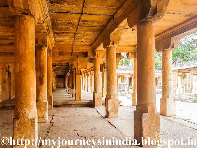 Pillared Mantap at Gopala Krishna swamy Temple Thondanur