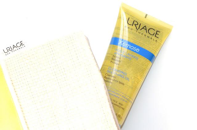 Uriage Water Cleansing Gel очищающий гель Uriage Xemose Soothing Cleansing Oil очищающее успокаивающее масло очищение атопичной и сухой кожи