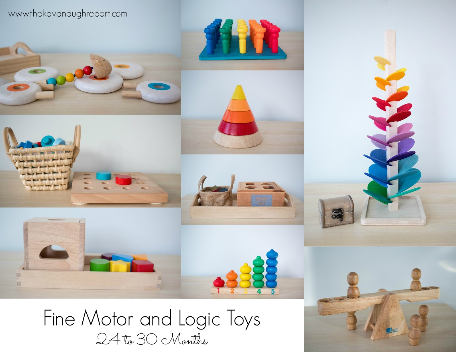 Favorite Montessori Friendly Toys 24 To 30 Months