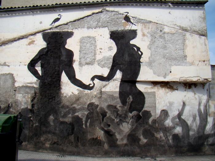Фотографии работ уличного художника. Sam3 27