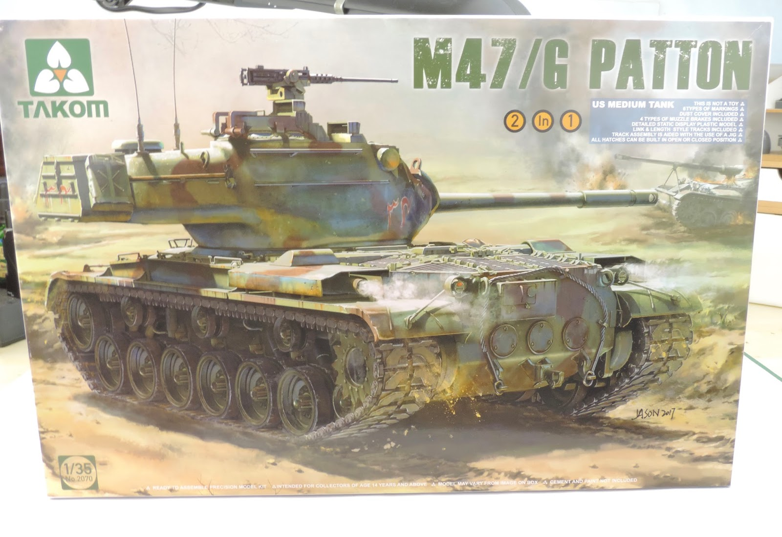 Pete's Model World : Takom M47/G Patton