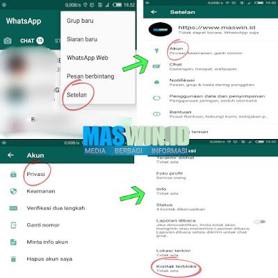 Inilah cara memblokir nomor di whatsapp terbaru