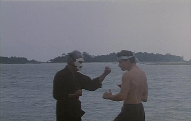 Billy und Kevin beim Karate-Training