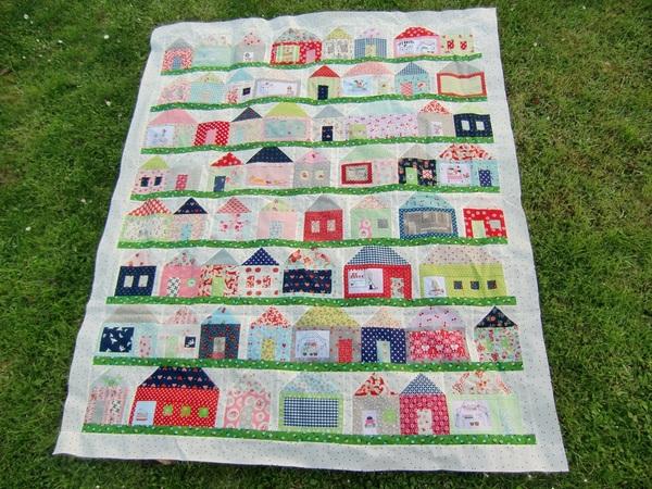 House Quilts | A Quilting Life - a quilt blog : village quilts - Adamdwight.com