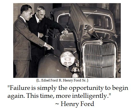 Inspirational Quotes About Failure: The District Of Calamity: Henry Ford On Failure