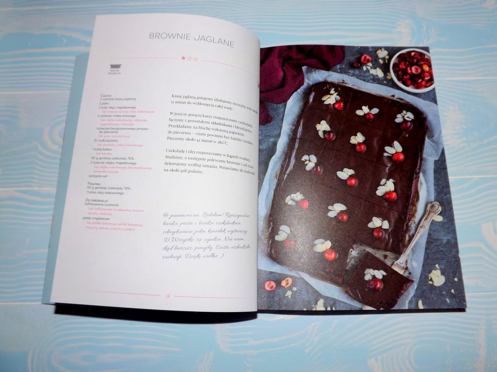 Jak schudnąć jedząc słodycze książka