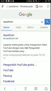 Cara Download Video Dari Youtube Ke Galeri