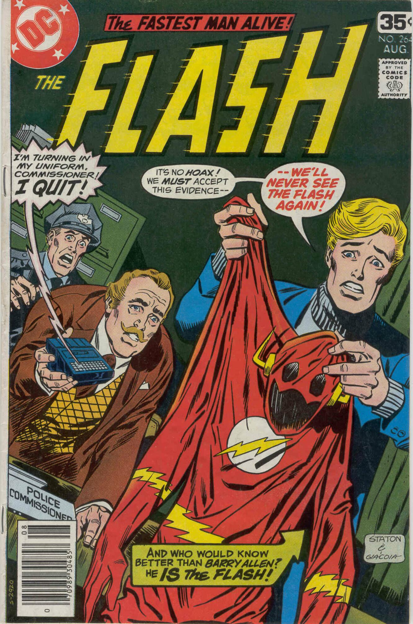 The Flash (1959) 264 Page 1