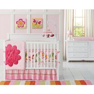 Welcome To Kids Place For Toys Amy Coe Bloom 4pc Crib