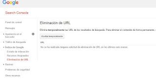 Posicionamiento en buscadores: Como eliminar contenido de los resultados de busqueda