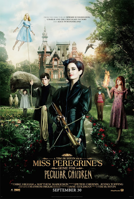 Miss Peregrine's Home For Peculiar (2016) 720 HDRip Subtitle Indonesia