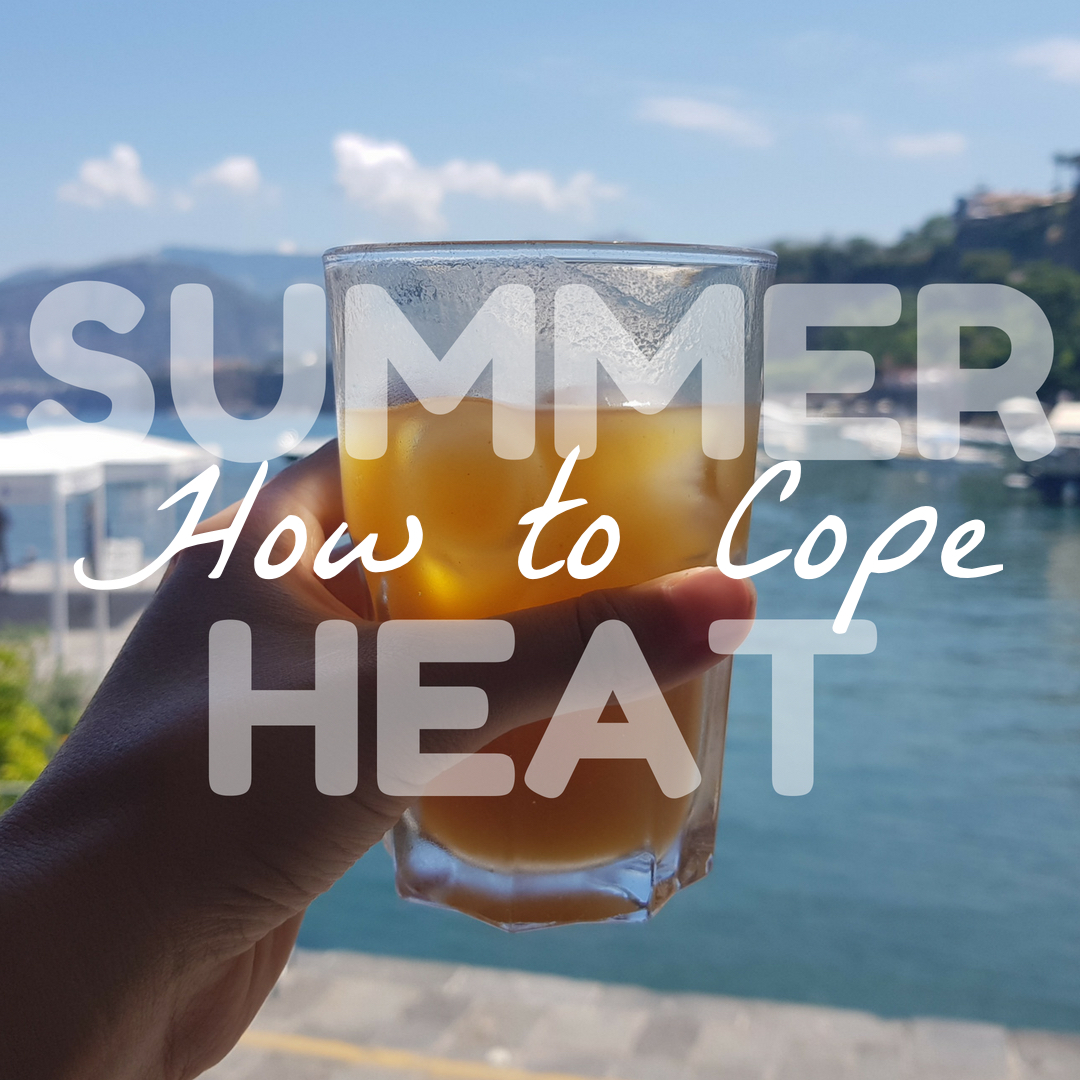 summer heat hot weather cope survive