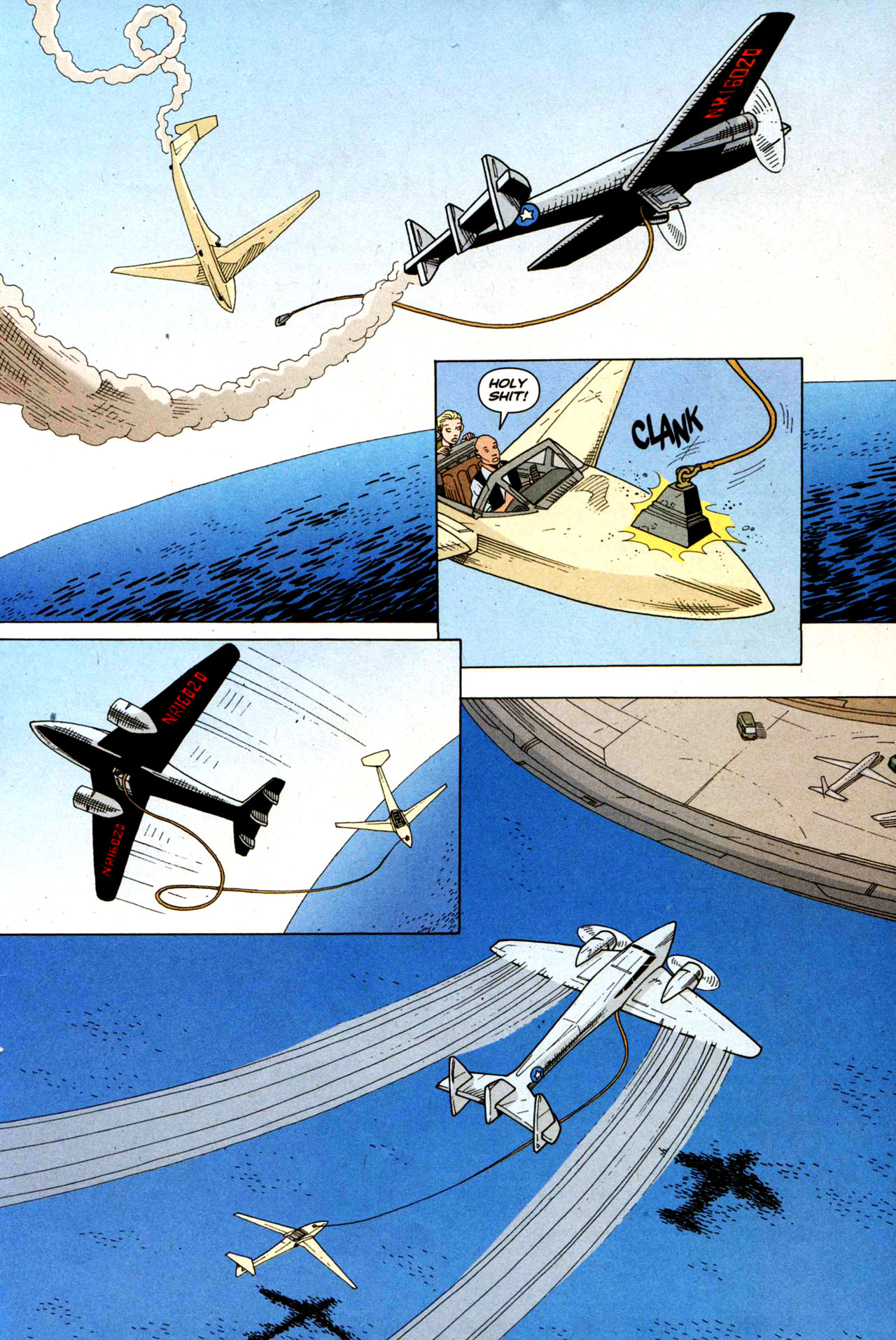 Read online Air comic -  Issue #5 - 21