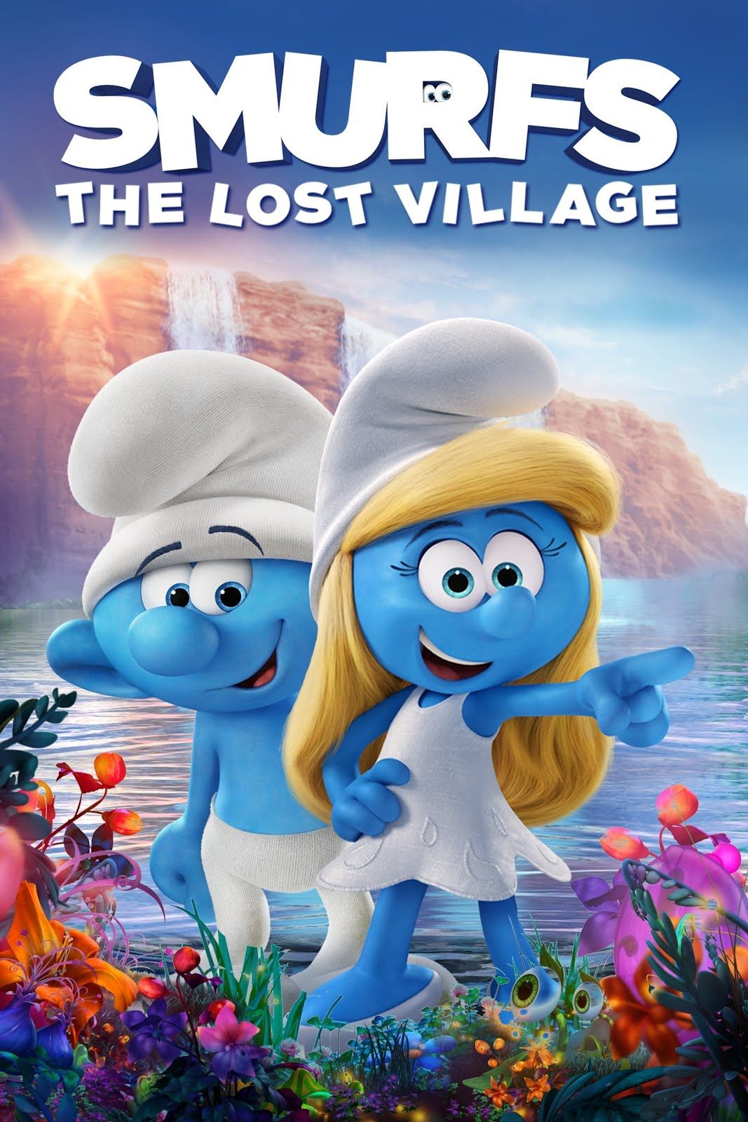 Smurfs The Lost Village 2017 Dual Audio ORG Hindi 300MB BluRay 480p