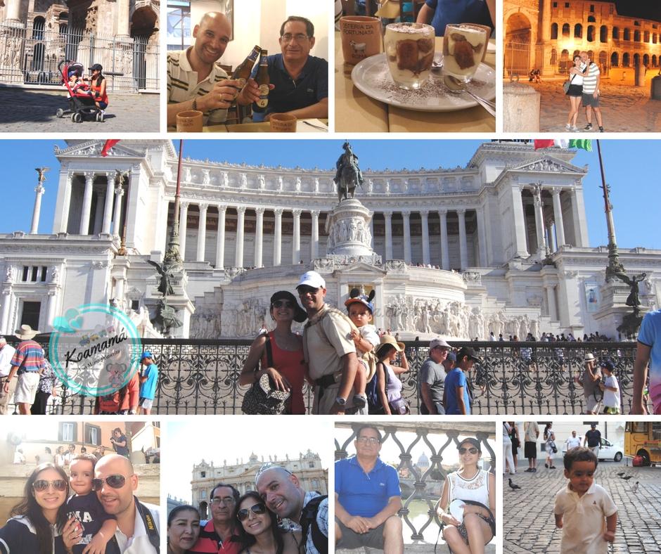 vacaciones roma