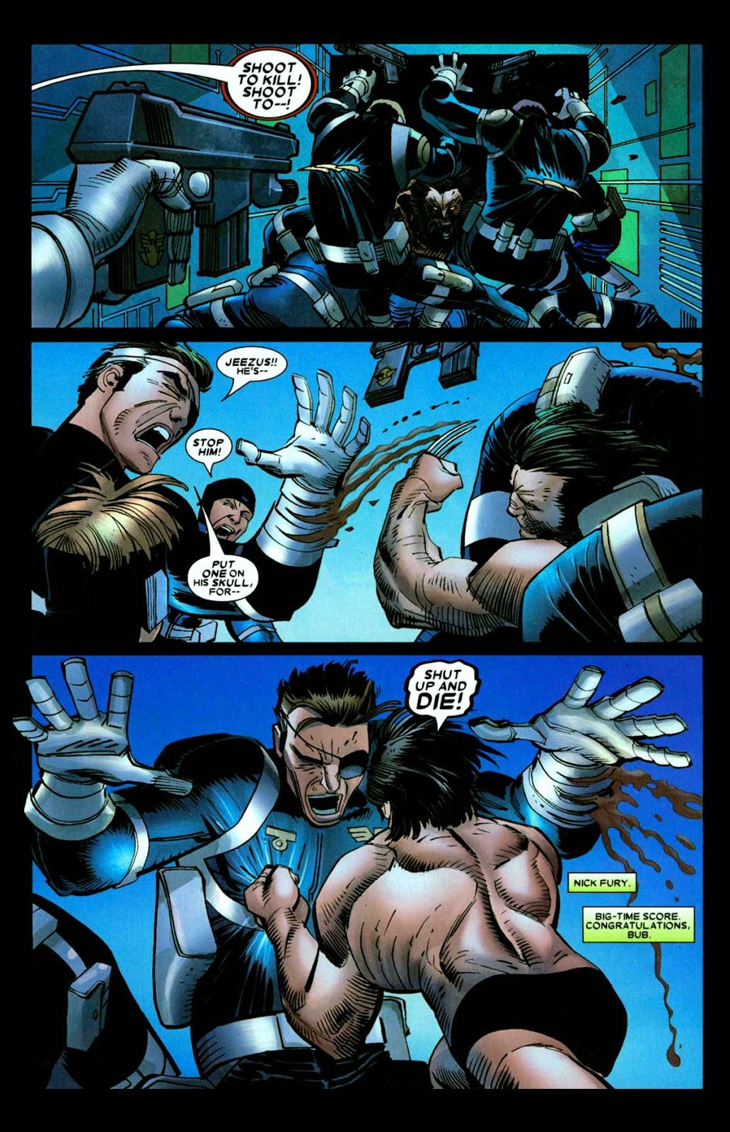 Read online Wolverine (2003) comic -  Issue #26 - 18