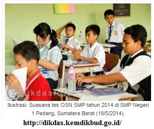 Inilah Daftar Peserta  OSN 2016 Tingkat SMA dan SMP di Palembang