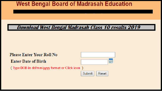 West Bengal Board published Madrasah Class 10, Class 12 results today; visit wbresults.nic.in. and download it