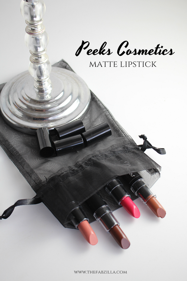 peeks cosmetics matte lipsticks review swatch, mac lipstick dupes