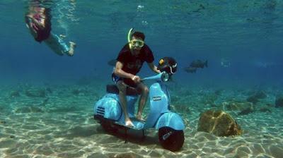 Foto Bawah Air di Umbul Ponggok
