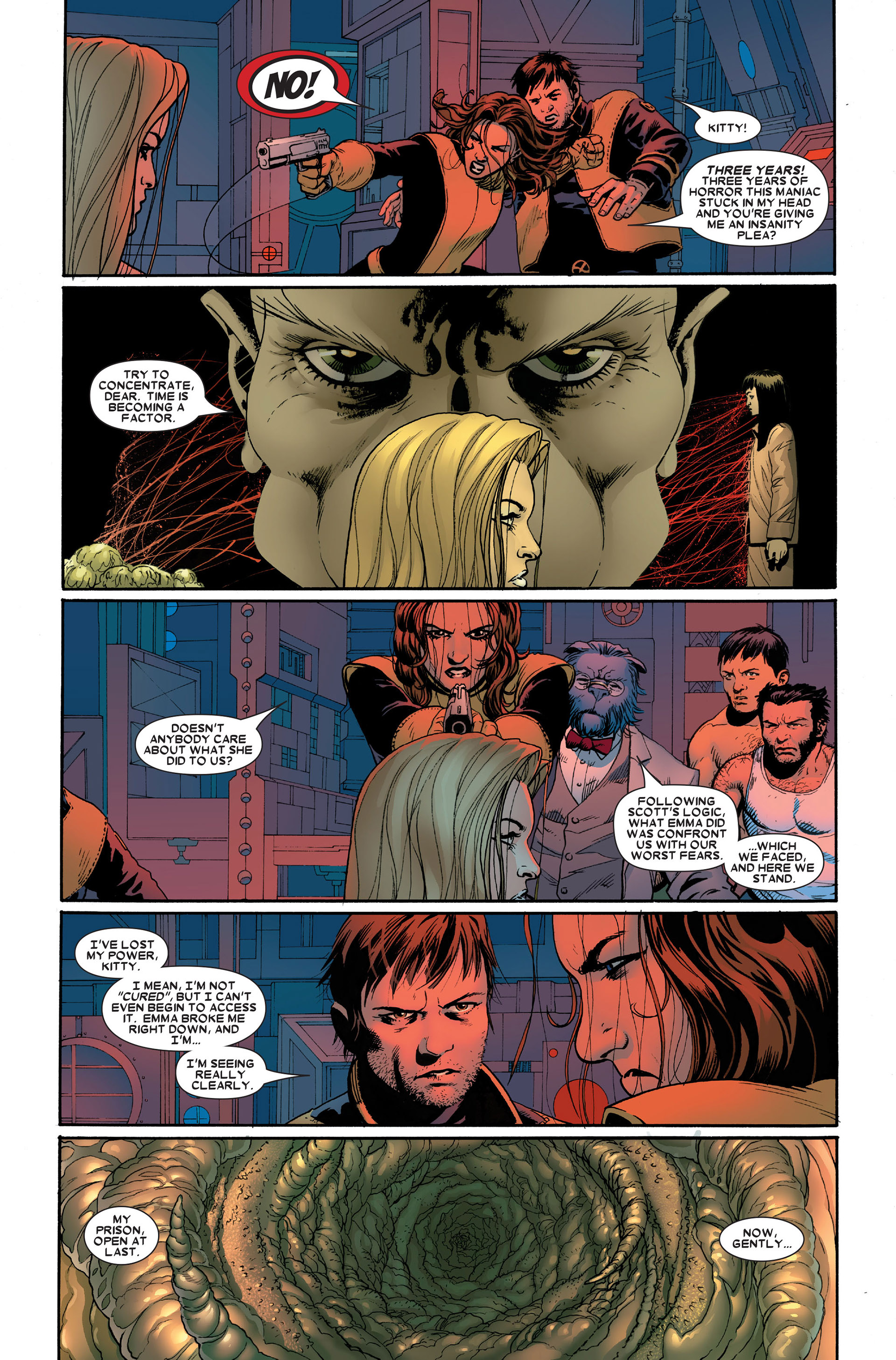 Read online Astonishing X-Men (2004) comic -  Issue #18 - 20