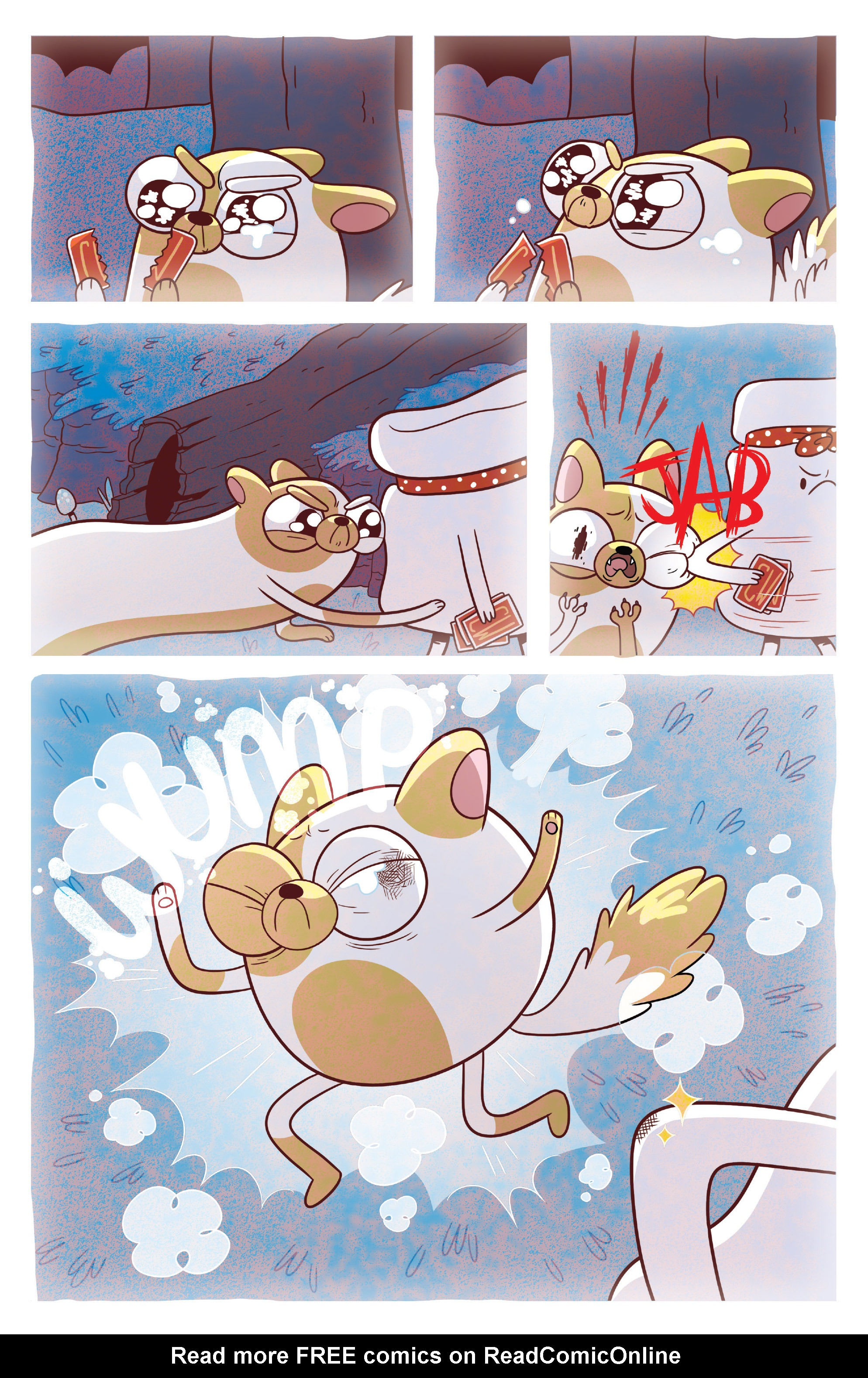 Read online Adventure Time Fionna and Cake Card Wars comic -  Issue #3 - 5