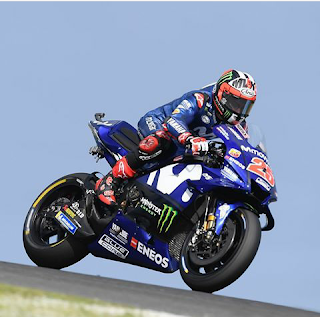 Wallpaper gambar maverick vinales 2018