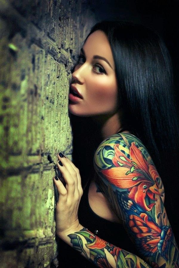 Gorgeous shoulder tattoo