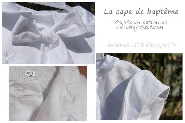 Cape baptême (détails) / bobinesdefils.blogspot.fr