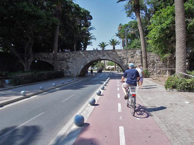 ścieżki rowerowe w Grecji, wyspa Kos,