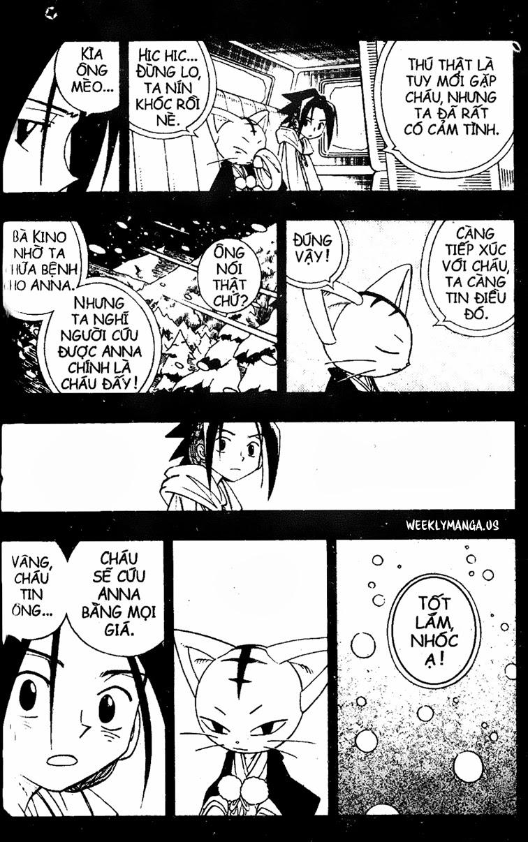 Shaman King [Vua pháp thuật] chap 174 trang 12