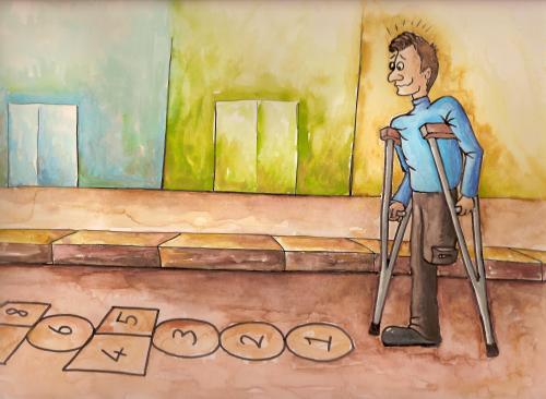 ΙΚΑ - Σύνταξη λόγω αναπηρίας - Προσφυγή κατά γνωματεύσεως ΚΕΠΑ - Απαγόρευση χειροτέρευσης της θέσης του ασφαλισμένου -.