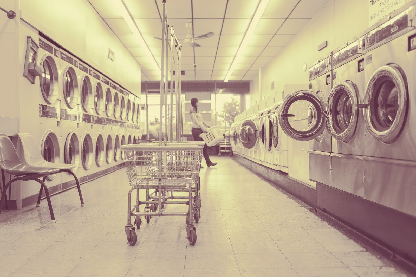 Laundrette eco bloggers challenge