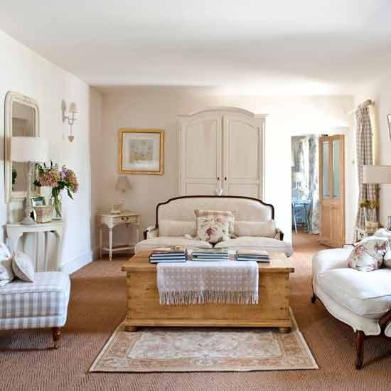 Vintage Paris Living Room: Bellart Atelier: Casa De Campo Em Cotswolds