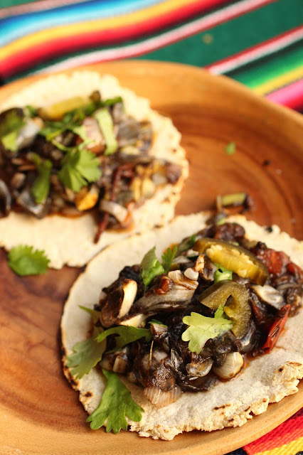 tacos huitlacoche recette