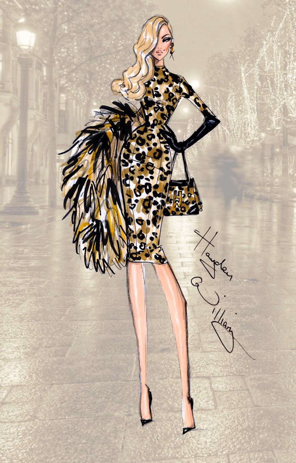 Hayden Williams Fashion Illustrations: September 2013